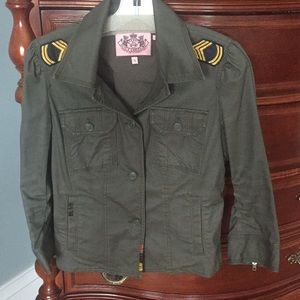 Juicy Couture Military-styled Jacket